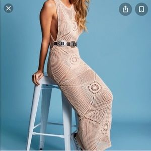 Frankies Veronica Crochet dress